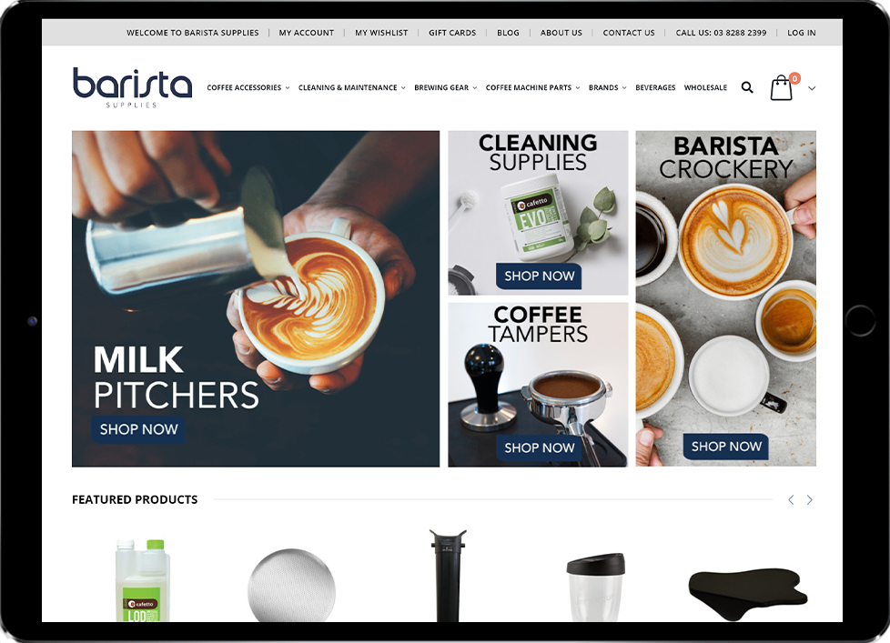 AfterPay Integration for Barista Supplies - Beedev Solutions