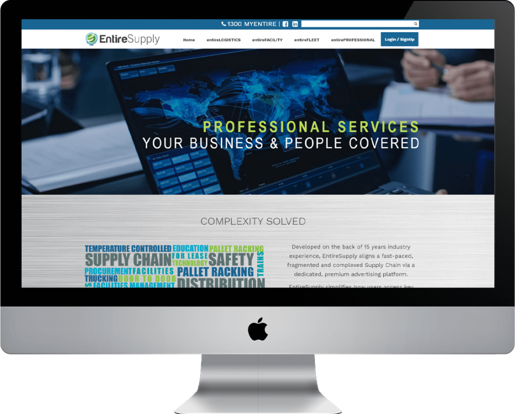 Responsive and Highly Function Website for Entiresupply - Beedev Solutions