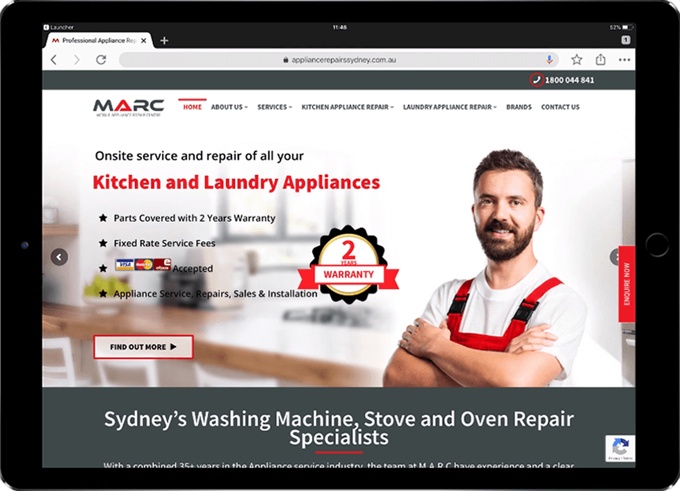 Responsive Web Design Services for MARC - Beedev Solutions